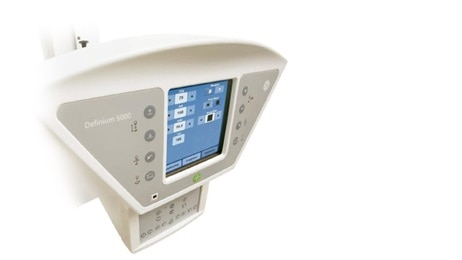 Definium 5000 product monitor